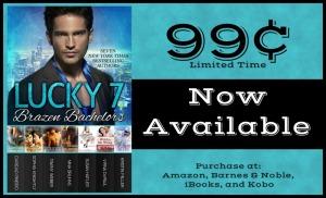 Lucky 7 Brazen Bachelors Sale Card