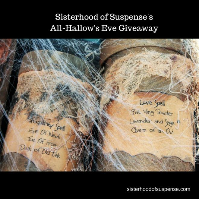 Sisterhood of Suspense'sAll-Hallow's Eve Giveaway