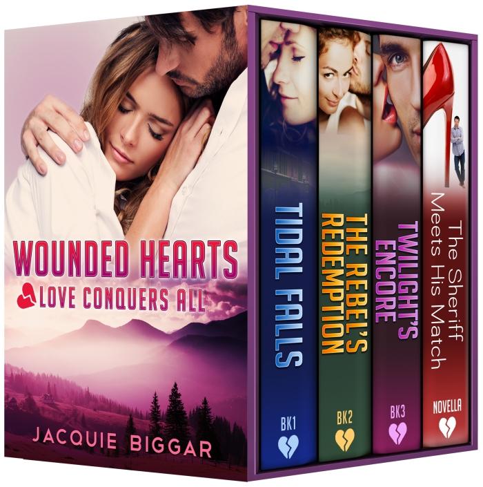 Wounded Hearts #BoxSet #Suspense#Sale