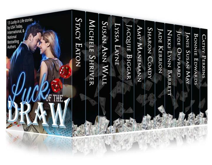 13 fascinating novellas of love, loss, and mystery. Luck of the Draw #NewRelease #Romance #mgtab @MoBPromos