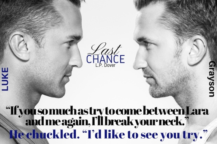 He had one: Last Chance by @LPDover #Suspense#mgtab