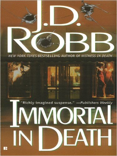 Immortal In Death by J. D. Robb #Mystery #BookReview#mgtab