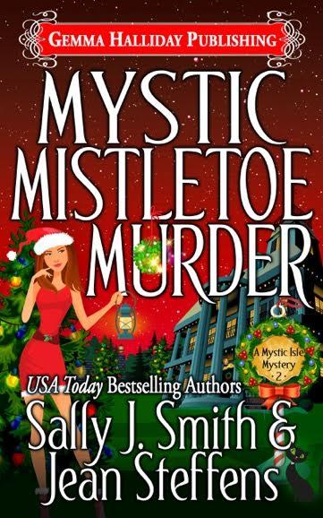 Mystic Mistletoe Murder by Sally J. Smith/Jean Steffens #Mystery #mgtab@Goddessfish @SmithSteffens