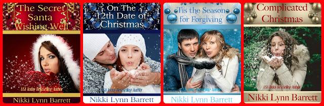The Secret Santa Series- @NikkiLynnBarrett #HolidayRomance #Contemporary@MoBPromos
