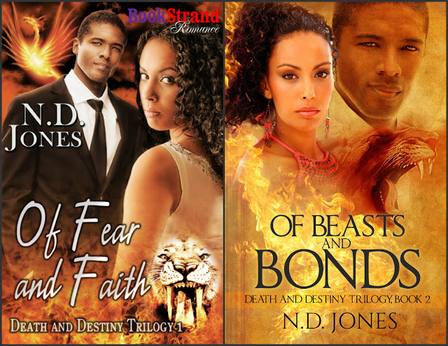 Death and Destiny by N.D. Jones #PNR #Romance @MoBPromos@NDJonesAuthor
