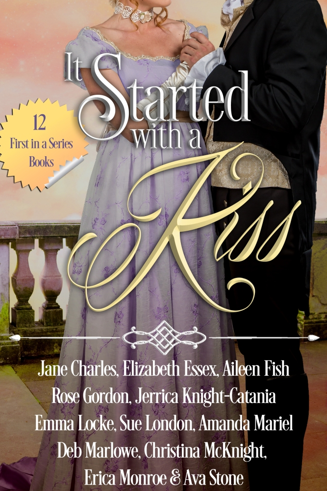 It Started With A Kiss #BoxedSet #Historical #Romance @Barclay_PR @CMcKnightWriter