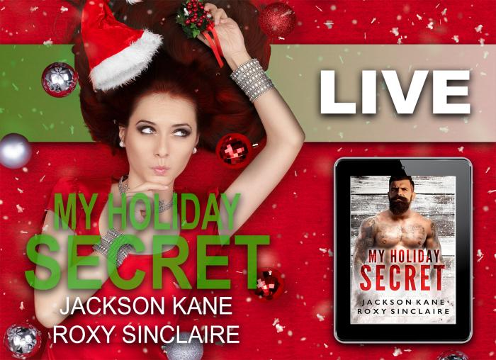 My Holiday Secret by Jackson Kane and Roxy Sinclaire #Romance #amreading #mgtab http://mybook.to/MyHolidaySecret @Badboy-JKane