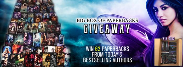 An epic Book-Lover's Prize! Big Box of Paperbacks Giveaway! #PNR#Fantasy