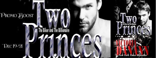 Two Princes by Victoria Danann #MC #Suspense @MoBPromos@vdanann