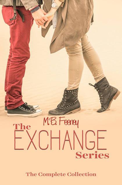 The Exchange Series by M.B. Feeney #YA #Romance @MoBPromos@mbfeeneyauthor