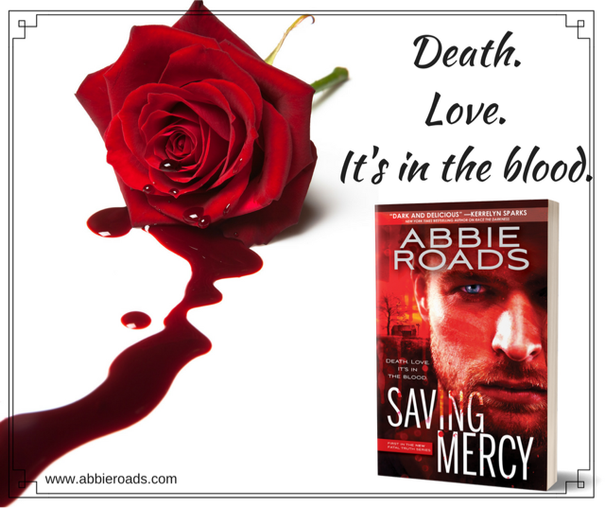 Death. Love. It's in the blood. Saving Mercy by @Abby_Roads #Suspense #Thriller#mgtab