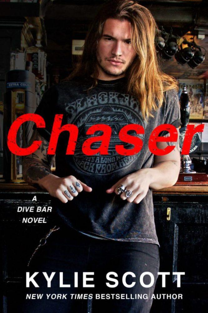 Chaser- A Dive Bar Novel by Kylie Scott #Romance #CoverReveal @ExpressoReads @KylieScottBooks