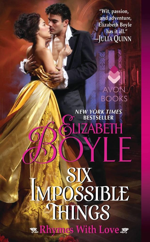 Six Impossible Things by Elizabeth Boyle #Historical #Romance #mgtab @avonbooks@ElizBoyle