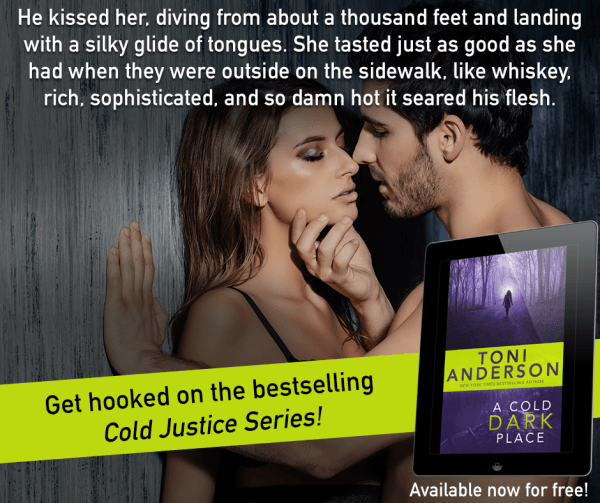 Justice isn't always black or white… A Cold, Dark Place by @toniannanderson    #romanticsuspense #SummerReads @InkSlingerPR