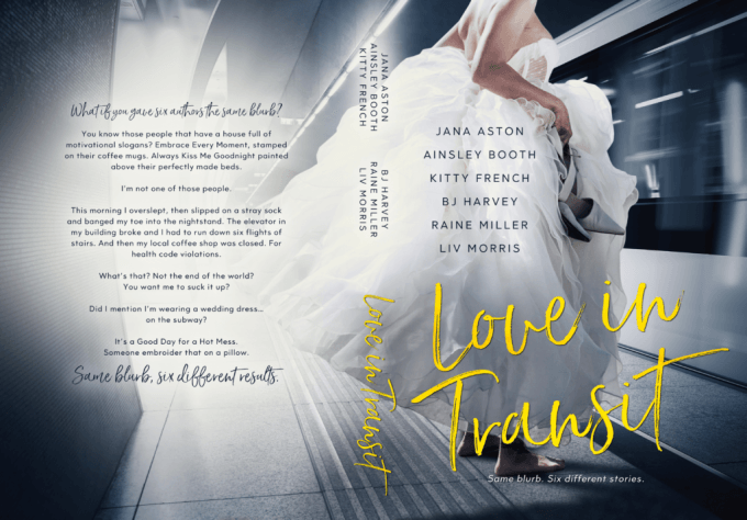 It's a Good Day for a Hot Mess. Love in Transit #BoxedSet #Romance @InkSlingerPR