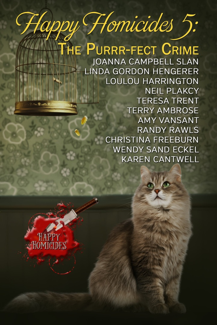 The Purr-fect #Collection of #CozyMysteries Happy Homicide 5 @Goddessfish