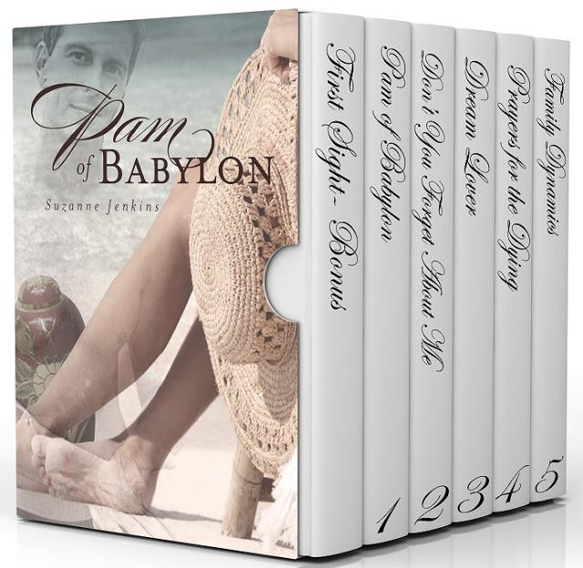 Pam of Babylon #BoxSet by Suzanne Jenkins #Romance #mgtab @suzannejenkins3 @MoBPromos