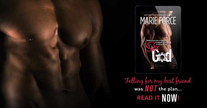 Falling for my best friend was NOT the plan: Sex God by @MarieForce #Romance #nytimes #mgtab@InkSlingerPR