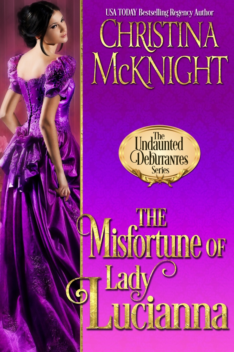 The Misfortune of Lady Lucianna Cover