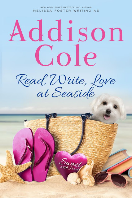Read, Write, Love at seaside by @Addison_Cole_ #Romance #SummerReads @MoBPromos
