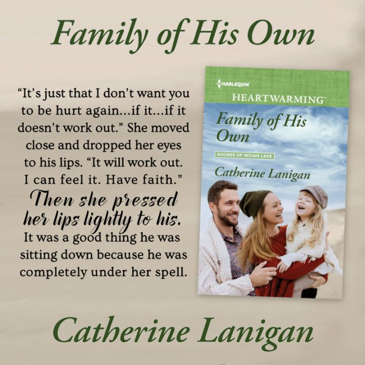 Family of His Own by Catherine Lanigan #HarlequinHeartwarming #Romance @PrismBookTours @CathLanigan