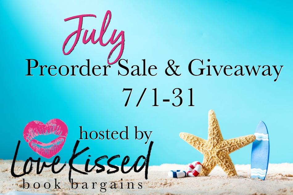 July Preorder Sale & Giveaway