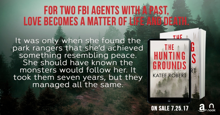 The Hunting Grounds by @Katee_Robert #Suspense #amreading@Barclay_PR