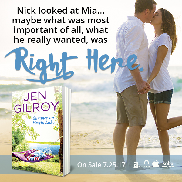 Summer on Firefly Lake by @JenGilroy1 #Summerreading #Romance@Barclay_PR