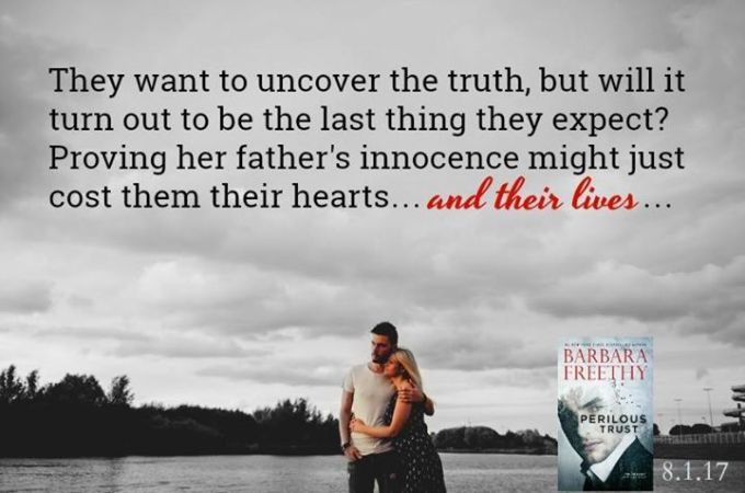 Everyone in their world becomes a suspect. Perilous Trust by @barbarafreethy #Suspense#amreading