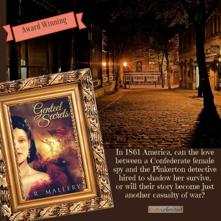 Espionage . . . and romance… Genteel Secrets by S.R. Mallery #Historical #Romance #mgtab @MoBPromos @SarahMallery1