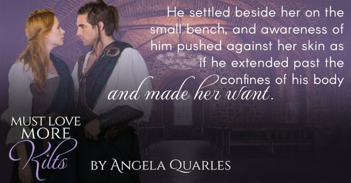 What if your husband turns out to be the man sent to kill your ancestor? Must Love More Kilts by @angelaquarles #TimeTravel#Romance