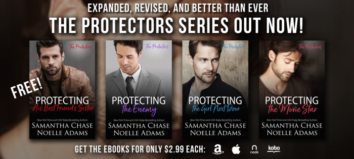 The Protectors Series by @NoelleAdams3 and Samantha Chase #Romance #BookBoost@Barclay_PR