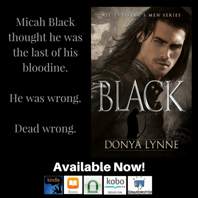 If you thought you knew Micah Black, think again… Black by @DonyaLynne #PNR #Romance @InkSlingerPR