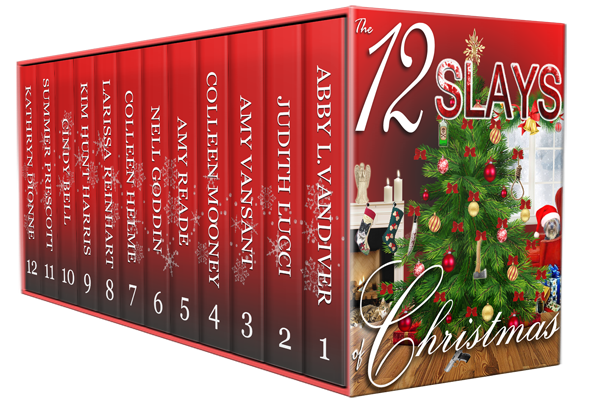 A little murder, a whole lot of fun, and a gift of love! Slays of Christmas #mystery #BoxSet @MoBPromos