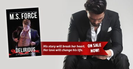 Kristian and Aileen's long-awaited story… Delirious by M.S. Force #Erotic #Romance @InkSlingerPR @MarieForce