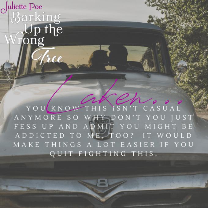 Barking Up the Wrong Tree by @Juliette_Poe #NewRelease #Romance@InkSlingerPr