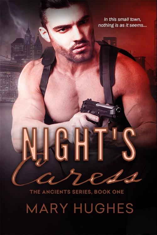 Night's Caress by Mary Hughes #NewRelease #PNR @InkSlingerPR @MaryHughesBooks