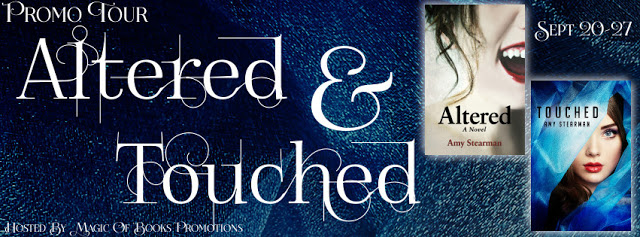 Altered and Touched by @AmyStearman #PNR #Romance@MoBPromos