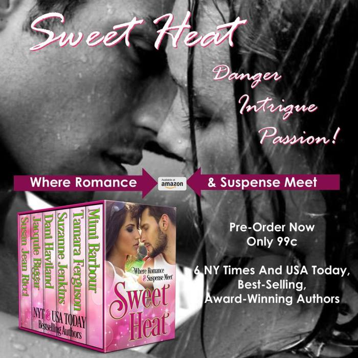Where Romance and Suspense meet- Sweet Heat #NewRelease #BookBoost #Boxset@mimisgang1