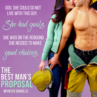 They just have to survive living together for a few weeks… The Best Man's Proposal by @WynterDaniels #RomCom #NewRelease@BPICPromos