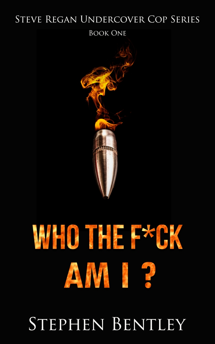 #Crimefiction about an undercover cop written by a former undercover cop! Who The F*ck Am I? by @StephenBentley8 #Suspense