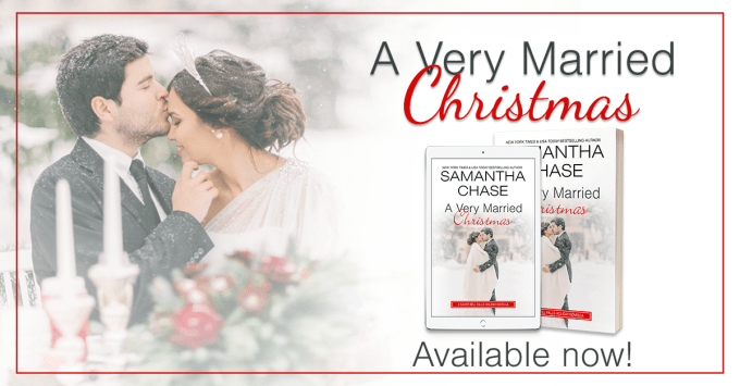 She's ready to deck the halls… A Very Married Christmas by @SamanthaChase3 #HolidayRomance #Reading@InkSlingerPR
