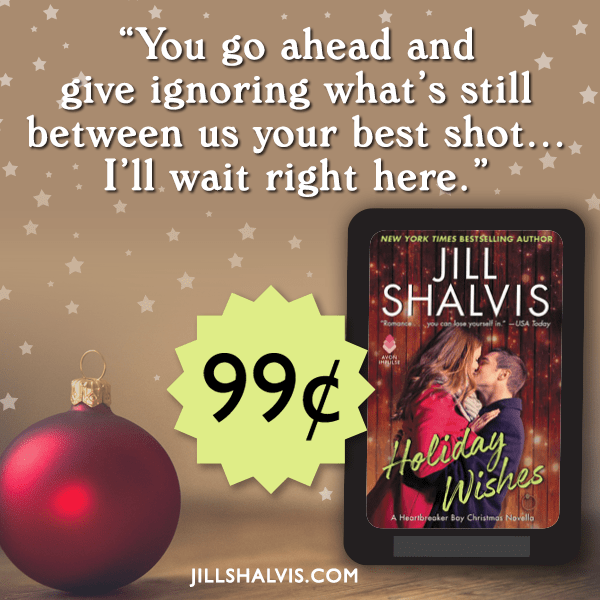 Love and magic are in the air… Holiday Wishes by @JillShalvis #amreading #Romance @InkSlingerPR