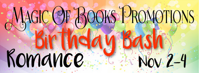 Magic of Books Birthday Bash #Romance Tour #reading@MoBPromos