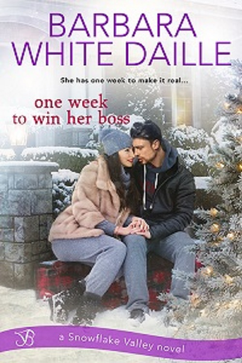 One Week To Win Her Boss by @BarbaraWDaille #HolidayRomance #reading@MFRWauthor