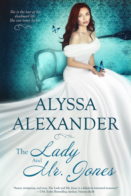 The Lady and Mr. Jones by @AlyssaAlexander #Historical #RomSuspense @MoBPromos