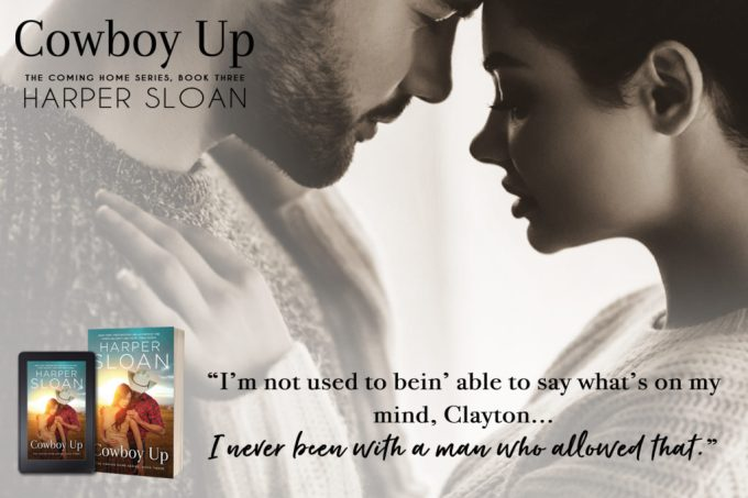 A passionate and breathless romance… Cowboy Up by @HarperSloan #NewRelease #Romance@InkSlingerPR