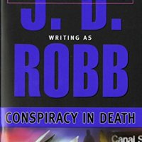 My final #read of 2017, and it was awesome! #BookReview Conspiracy in Death by J.D. Robb