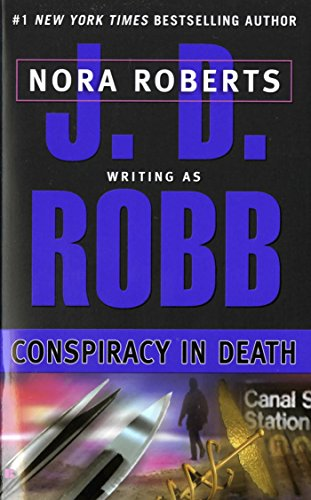 My final #read of 2017, and it was awesome! #BookReview Conspiracy in Death by J.D.Robb