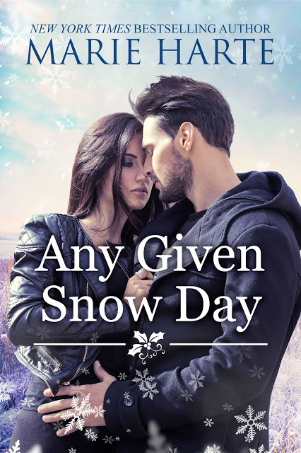 Any Given Snow Day by Marie Harte #Romance #Reading @MoBPromos @MHarte_Author